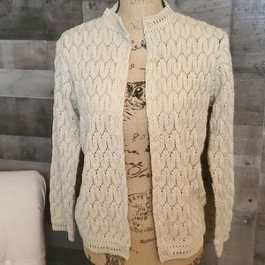 Vintage Montgomery Ward knit cardigan sz 36 small